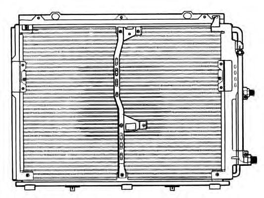 Радиатор кондиционера NRF 35229
