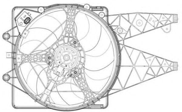 Вентилятор охлаждения NRF 47203