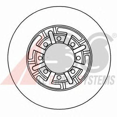Тормозной диск A.B.S. 16944