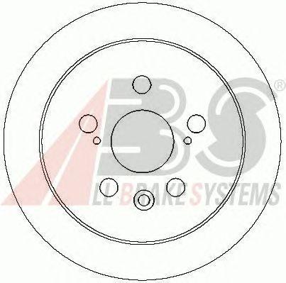 Тормозной диск A.B.S. 17168