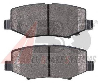 Тормозные колодки A.B.S. 38423