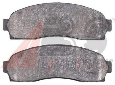 Тормозные колодки A.B.S. 38833