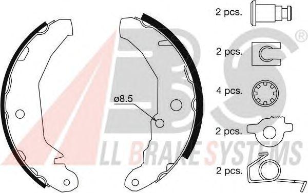 Тормозные колодки A.B.S. 8804
