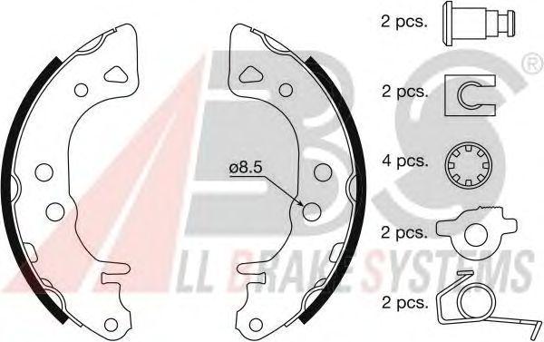 Тормозные колодки A.B.S. 8833