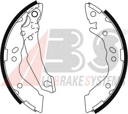 Тормозные колодки A.B.S. 9122
