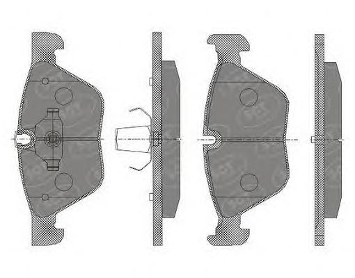 Тормозные колодки SCT Germany SP 427