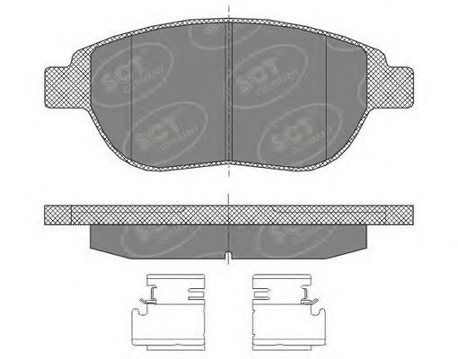 Тормозные колодки SCT Germany SP 435