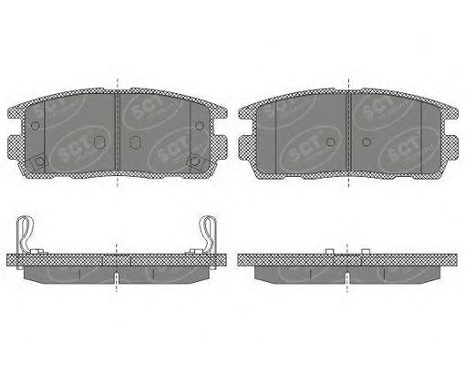 Тормозные колодки SCT Germany SP 647