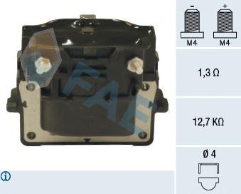 Катушка зажигания FAE 80241