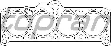 Прокладка головки блока цилиндров (ГБЦ) TOPRAN 101 423