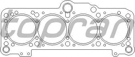 Прокладка головки блока цилиндров (ГБЦ) TOPRAN 100 814