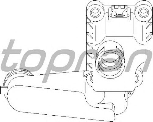 Клапан вентиляции картера TOPRAN 110 612
