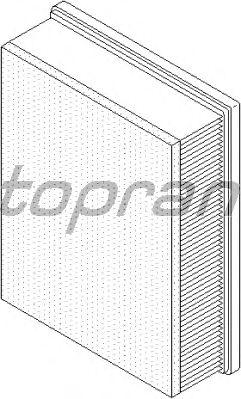 Воздушный фильтр TOPRAN 208 024