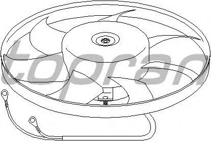 Вентилятор охлаждения TOPRAN 111 437