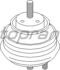 Подушка двигателя TOPRAN 500 744