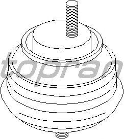 Подушка двигателя TOPRAN 500 271