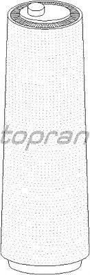 Воздушный фильтр TOPRAN 500 933