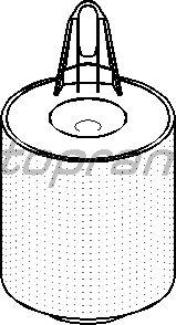 Воздушный фильтр TOPRAN 500 935
