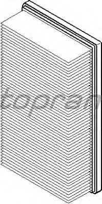 Воздушный фильтр TOPRAN 500 231