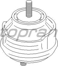 Подушка двигателя TOPRAN 500 277