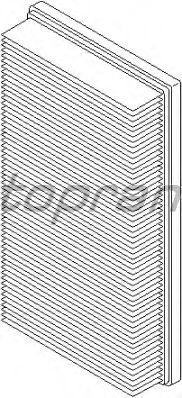 Воздушный фильтр TOPRAN 300 072