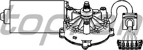 Двигатель стеклоочистителя TOPRAN 401 531