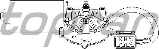 Двигатель стеклоочистителя TOPRAN 401 533