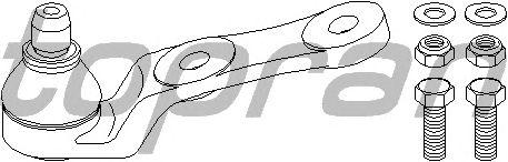 Шаровая опора TOPRAN 205 177
