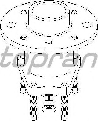 Ступица колеса TOPRAN 207 394