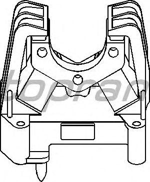 Подушка двигателя TOPRAN 205 137