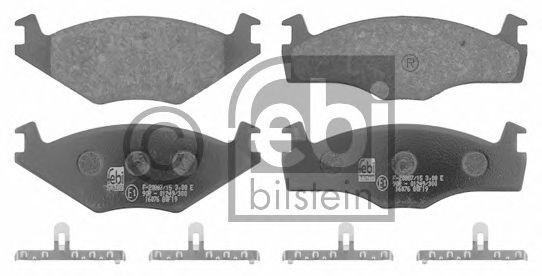 Тормозные колодки FEBI BILSTEIN 16076