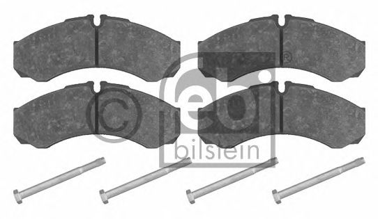 Тормозные колодки FEBI BILSTEIN 16348
