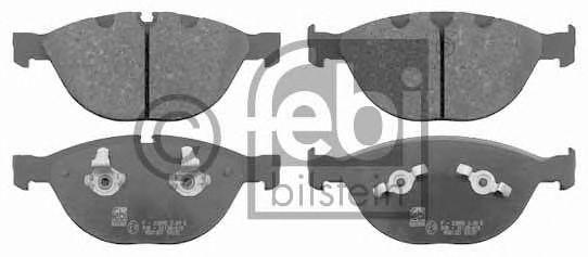Тормозные колодки FEBI BILSTEIN 16519