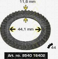 Сигнальный диск АБС TRISCAN 8540 16402