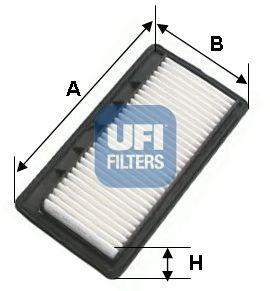 Воздушный фильтр UFI 30.468.00