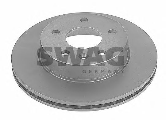 Тормозной диск SWAG 10 91 0642