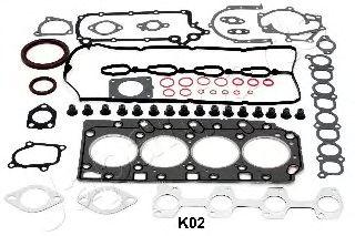 Комплект прокладок двигателя JAPANPARTS KM-K02