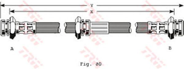 Тормозной шланг TRW PHA199