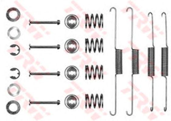 Монтажный комплект тормозных колодок TRW SFK110