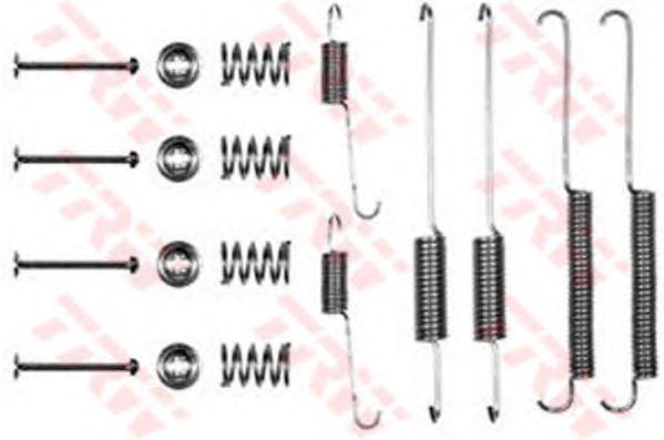 Монтажный комплект тормозных колодок TRW SFK127