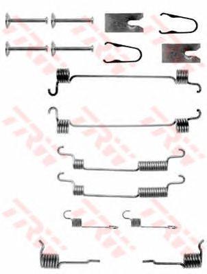 Монтажный комплект тормозных колодок TRW SFK267