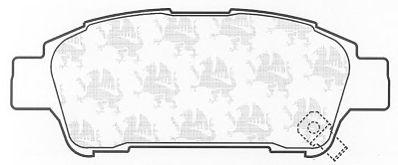 Тормозные колодки QH International BP1328
