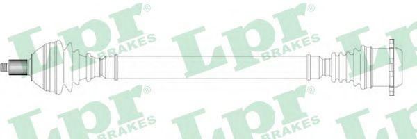 Приводной вал LPR DS51127