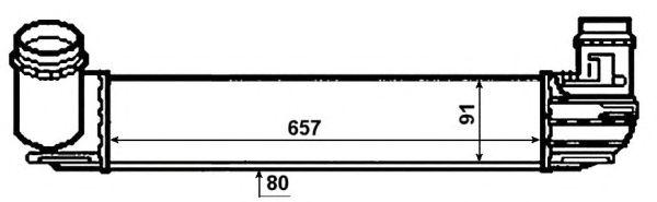 Интеркулер NRF 30481
