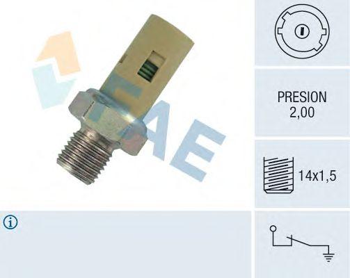 Датчик давления масла FAE 12360
