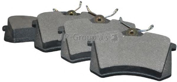 Тормозные колодки JP GROUP 1163706310
