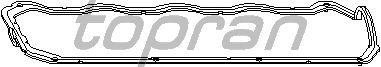 Прокладка клапанной крышки TOPRAN 100 288