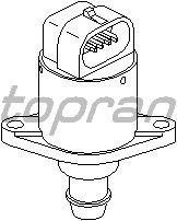 Поворотная заслонка, подвод воздуха TOPRAN 113 758