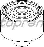 Направляющий / паразитный ролик  поликлинового ремня TOPRAN 302 419