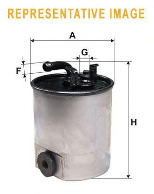 Топливный фильтр WIX FILTERS WF8430